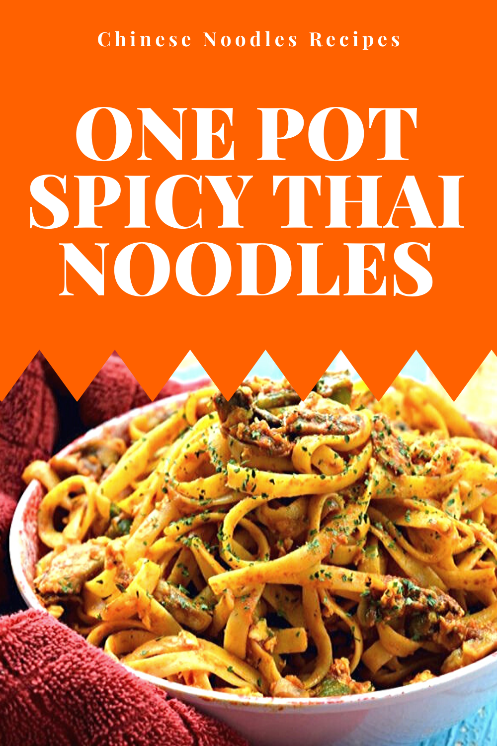 Photo of Chinese Noodles Recipes | One Pot Spicy Thai Noodles