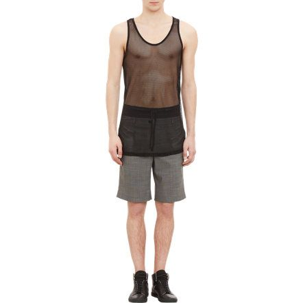 Public School Mesh & Jersey Tank at Barneys.com