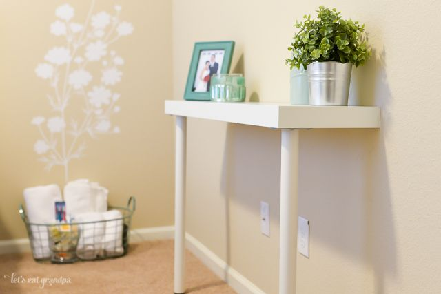 Ikea Hack Console Table Diy Console Table Narrow Console Table