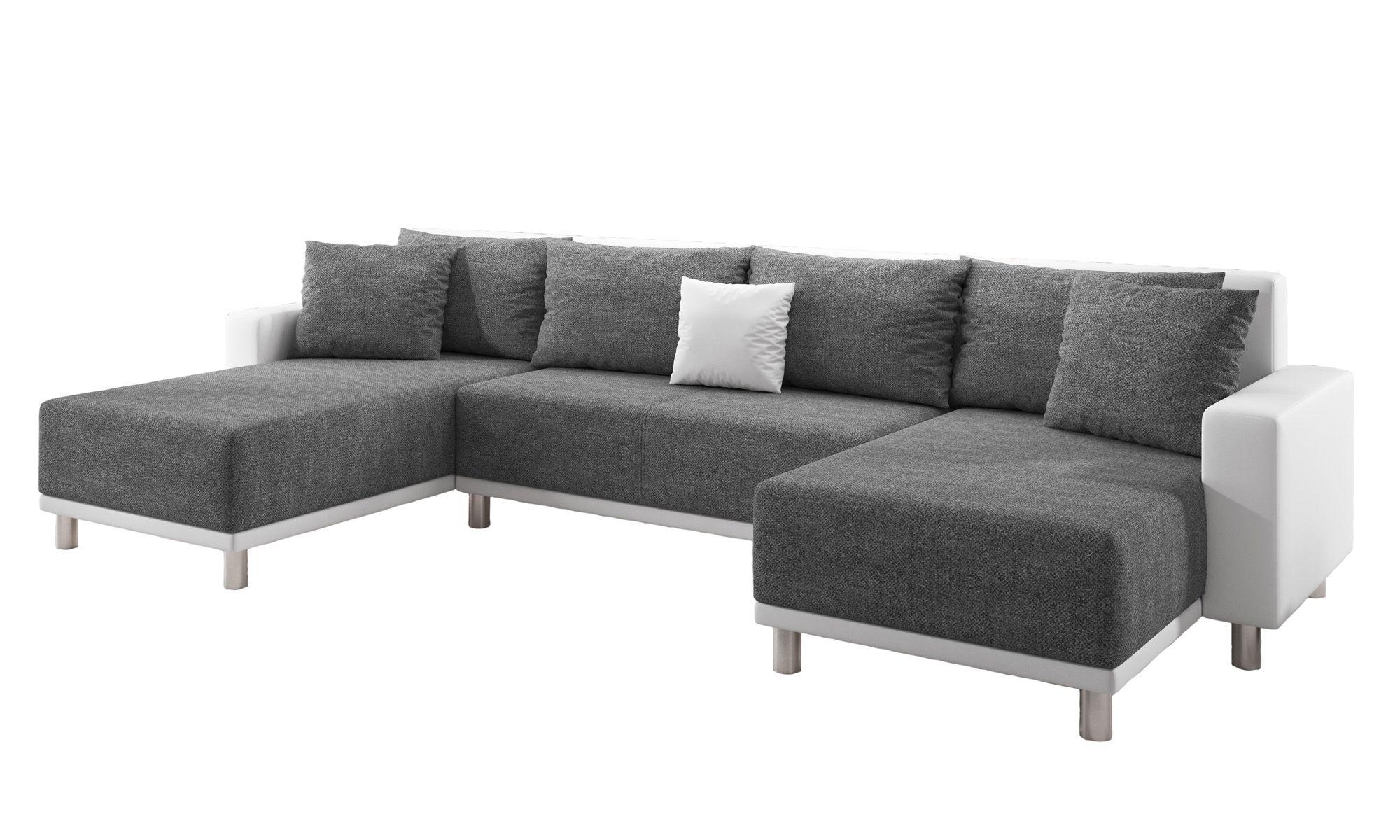 Schlafsofa U Form Grau Sofa U Form Ideen Wohnlandschaft