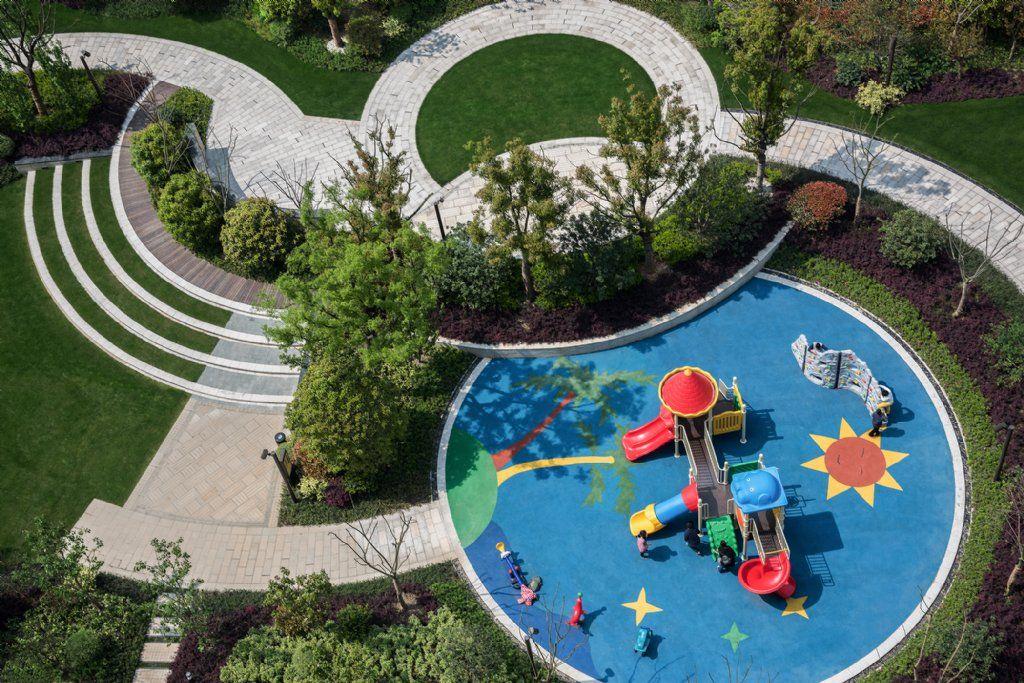 Pin de robert izeti en public spaces pinterest parque for Parque infantil jardin