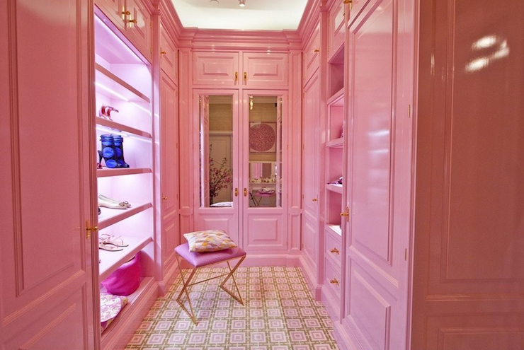 14 Pink Rooms for Valentine's Day Pink closet, Pink room