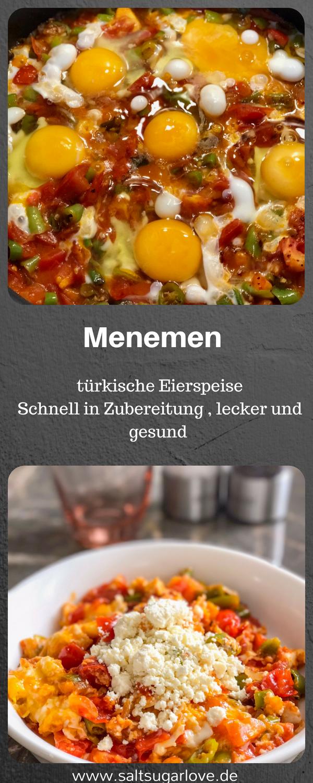 Türkische Eierspeise Menemen #eggmeals