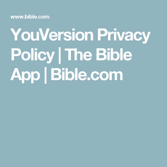 YouVersion Reading Plans