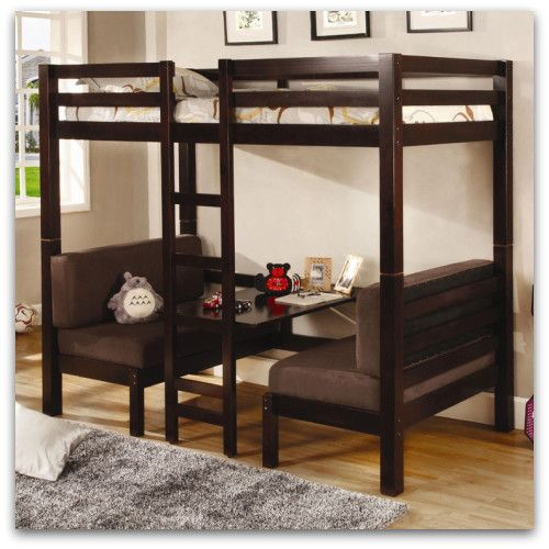 Small Space Solutions Twin Convertible Loft Bed From My New
