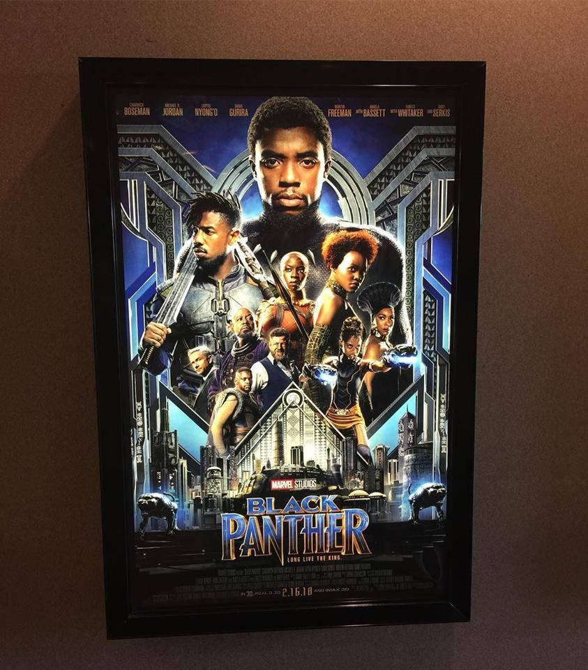 Giving Your Movie Poster Collection the Best Light: LED Frames at ...