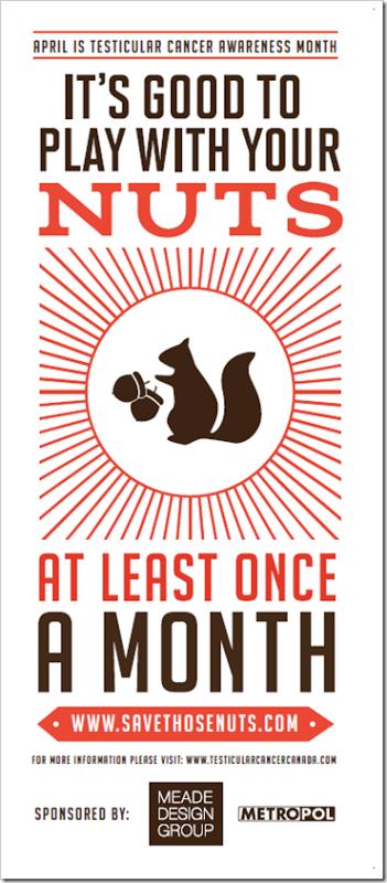 April is Testicular Cancer Awareness Month! | Testicular Cancer ...