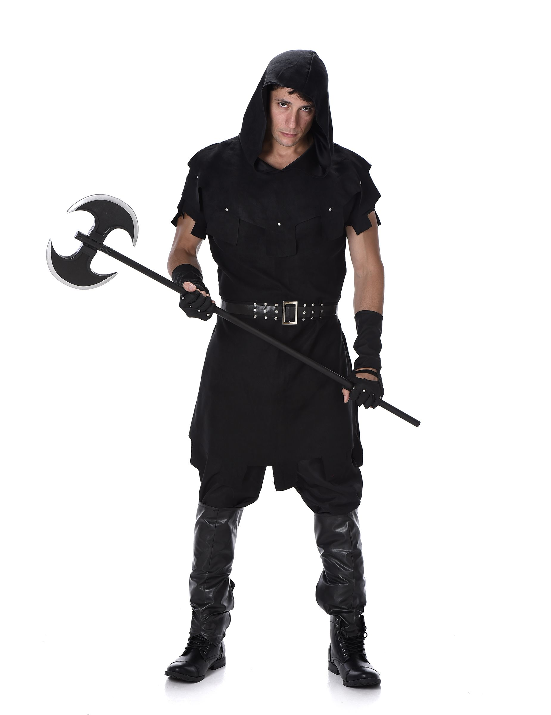THE EXECUTIONER MIDDLE AGES MEDIEVAL RENAISSANCE ADULT MENS HALLOWEEN COSTUME