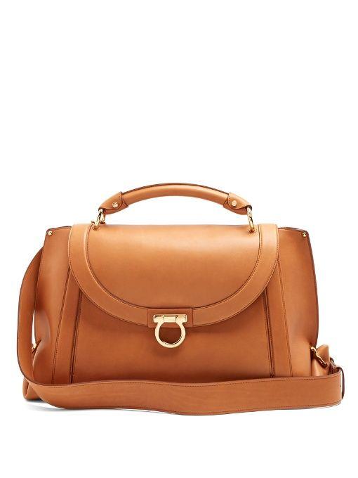 c22acc7436 Salvatore Ferragamo Suzanna leather tote