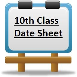 10th Board Time Table 18 Ssc Sslc Matric Exam Routine 18 Exam Schedule Educational Board Exam