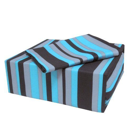 Veratex Bedding Collection On The Edge Stripe Sheet Set, Stripe/Blue/Black, Full Size by Veratex Bedding Collection, http://www.amazon.com/dp/B0076GJX5Y/ref=cm_sw_r_pi_dp_4zn3rb1F1ENQA