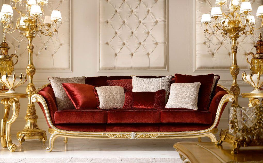 Arredamento Lusso ~ Mobili per la zona giorno classica e di lusso in stile veneziano e
