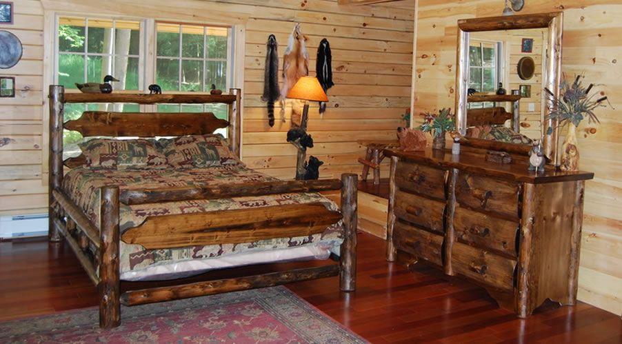 Fabelhafte Zeder Schlafzimmer, Rustikale holzmöbel