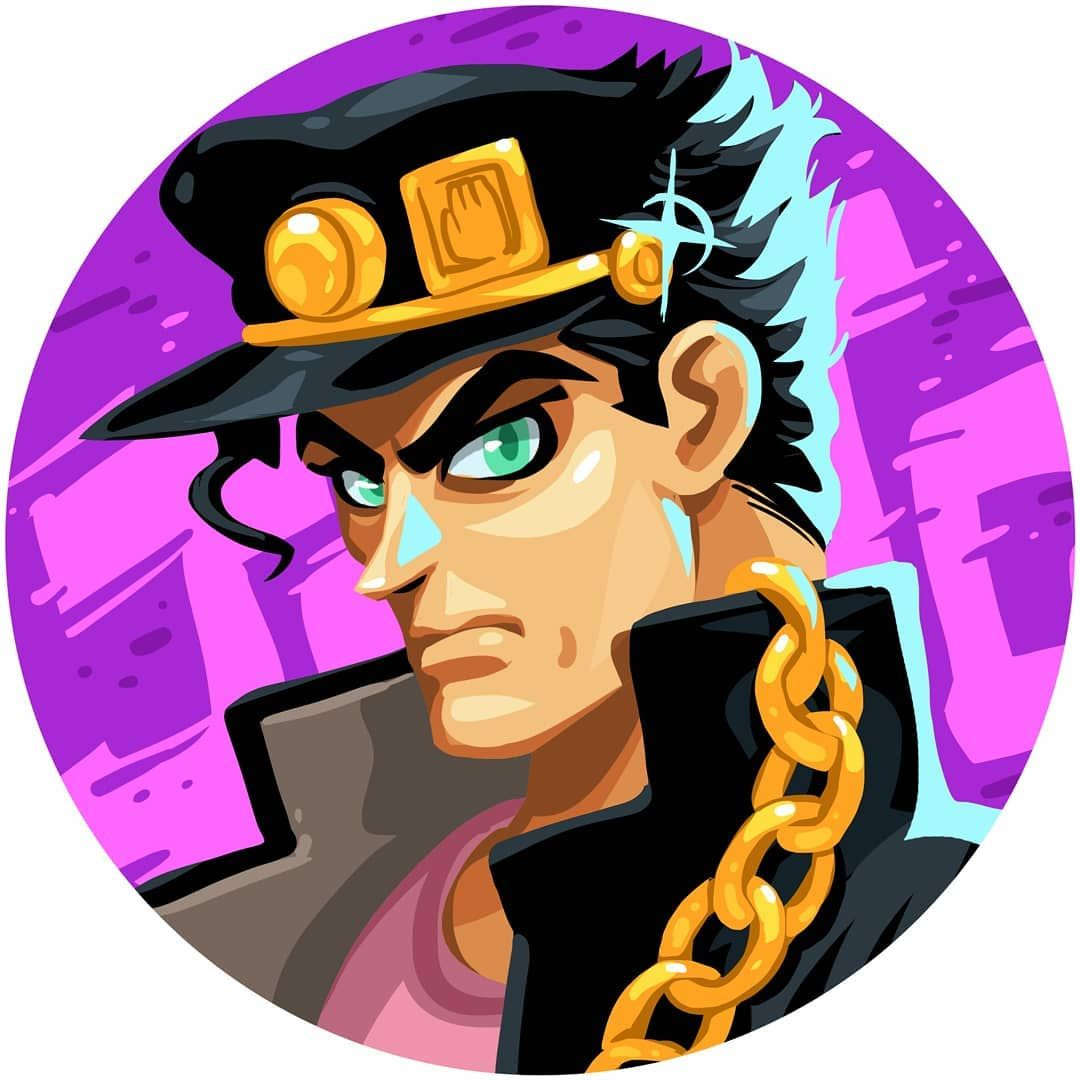 Ruigario On Instagram Jotaro Kujo This Guy Has It All Strong Smart Popular With The Ladies Ton Of Money Never Seems Happy How About A Smile Every Now And