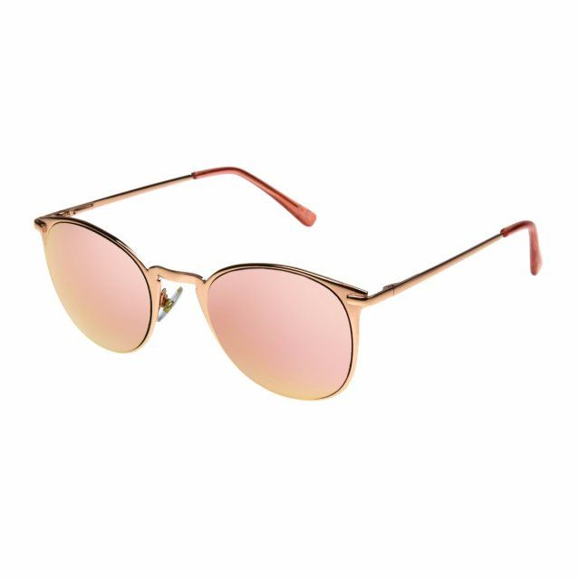 d2bf6470a Foster Grant Sunglasses   CB 68   Color Bar Rose Gold Frame, Rose Gold  Mirror