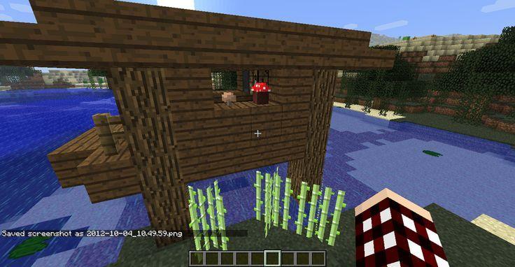 Minecraft Witch Hut Minecraft Pinterest Minecraft Creations - Minecraft jungle hauser