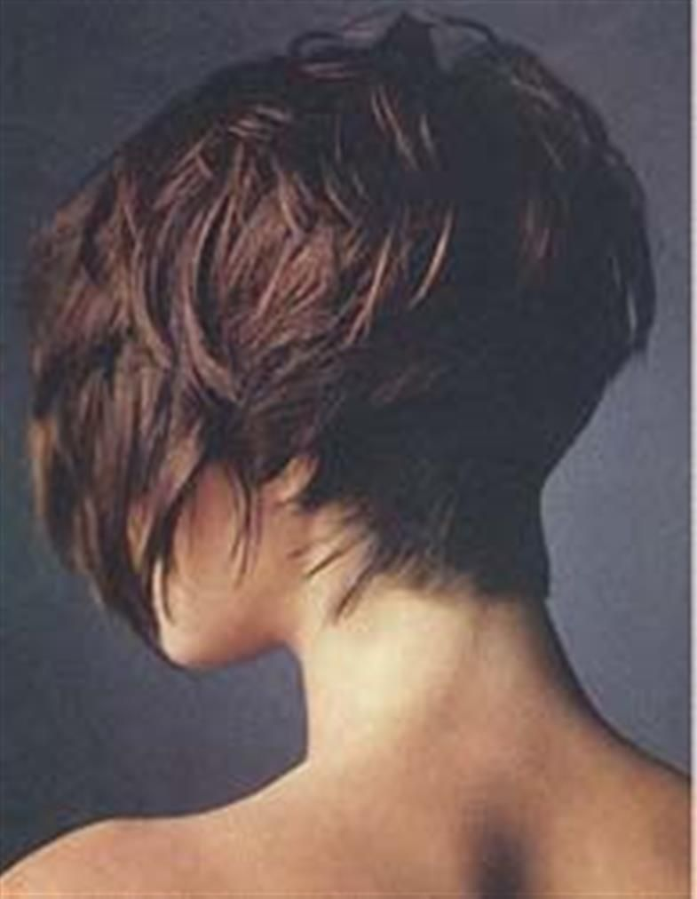 Bing bob hairstyle back view cute hair pinterest bob