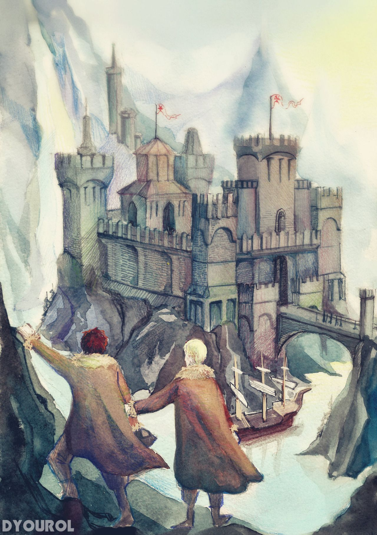 The Durmstrang Institute Harry Potter Fan Art Harry Potter Art Drarry Fanart The school, which presumably takes mainly northern european students, is willing to accept international students as far afield as bulgaria. harry potter fan art