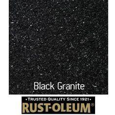 Spray Paint Black Granite Countertops Rust Oleum Stone Spray