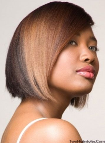 Hair Color Two Toned Hair Color Ideas For Black Women Bob Hairstyles Hair Styles Hair Styles 2014