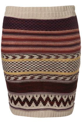 NAVAJO KNITTED SKIRT BY LOVE