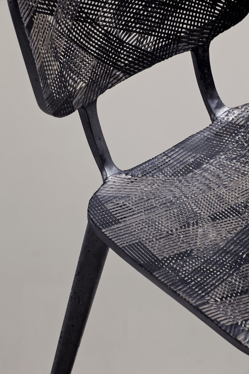 Marleen Kaptein Employs Aerospace Fibre Placement Technique To Form Carbon  Chair