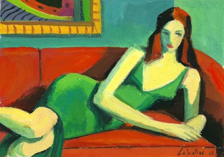 Guillermo Marti Ceballos, Chica del vestido verde, 2008