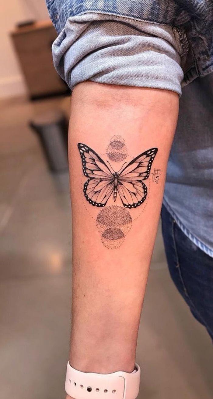 37 Das mais belas Tatuagens nos Braços, especial Borboletas - Página 5 de 8 - 123 Tatuagens