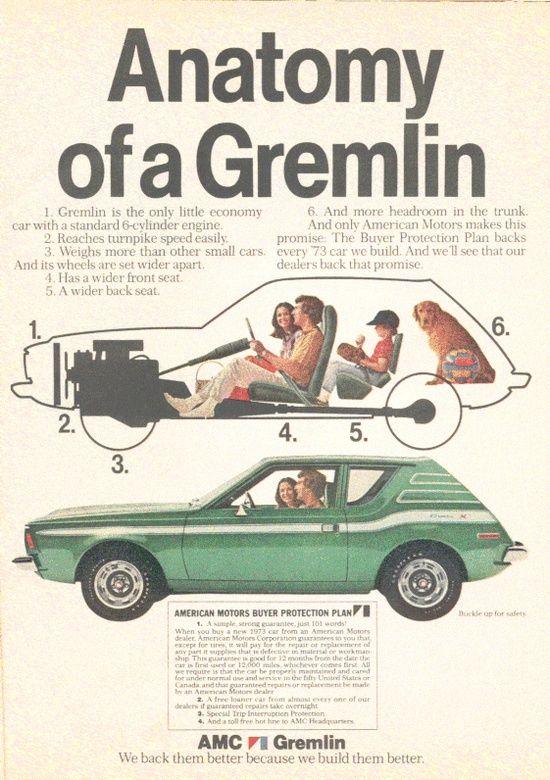 best 25+ gremlin car ideas on pinterest | amc gremlin, american
