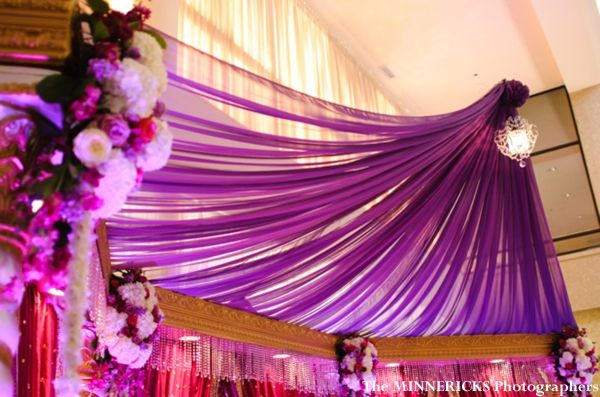 A Modern Fabric Mandap At Hindu Indian Wedding Reception Mandapstyle Indianweddinginspiration
