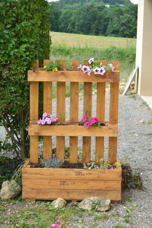 Jardiniere En Bois De Palette Plus
