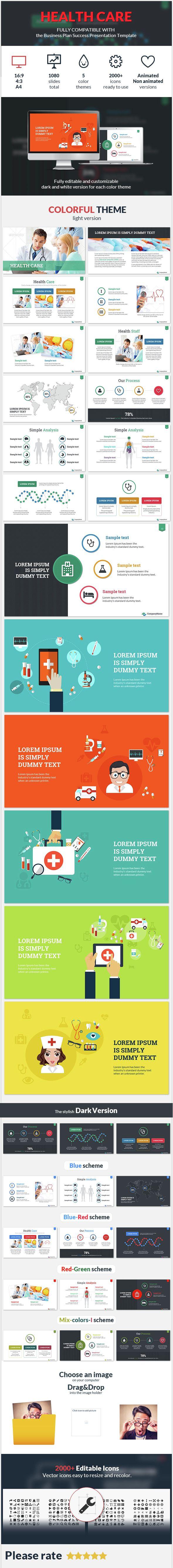 Health Care Success Presentation Template Presentation Templates