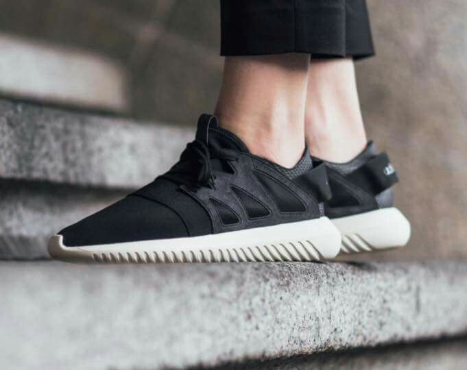 online store 7d6aa b7adb Tubular Viral Negra Zapatilla de Adidas Original - Zake Moda Online