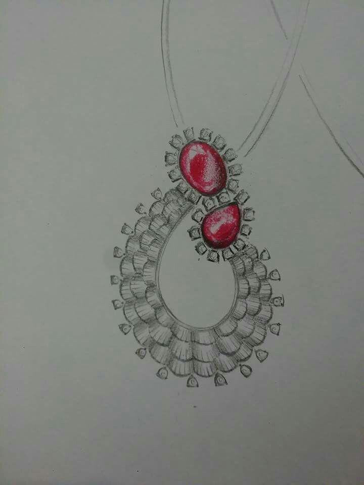 Pin By Abhishek Bagri On To Make Jewelry Design Drawing Jewelry