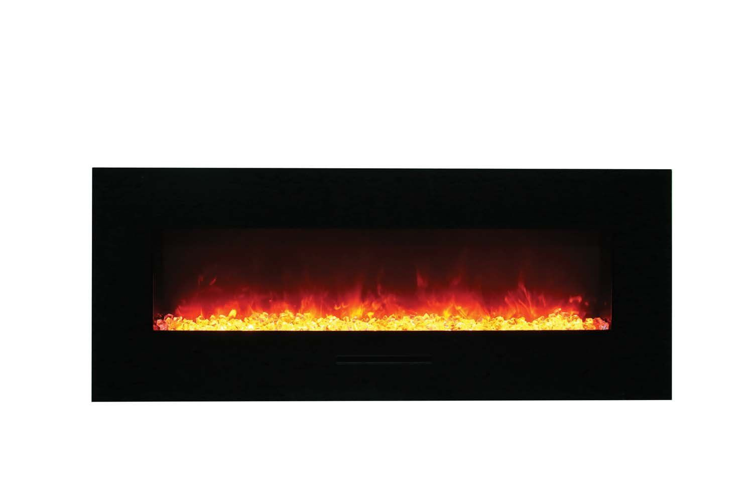 Amantii Wall Mount Flush Mount Series Electric Fireplace With Ember Media Kit Check Out The Imag Mounted Fireplace Fireplace Electric Fireplace