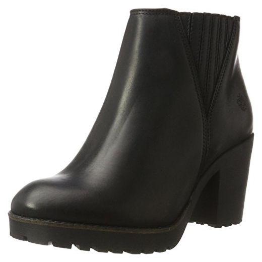 Apple of Eden Damen Tramp Chelsea Boots, Schwarz (Black), 37
