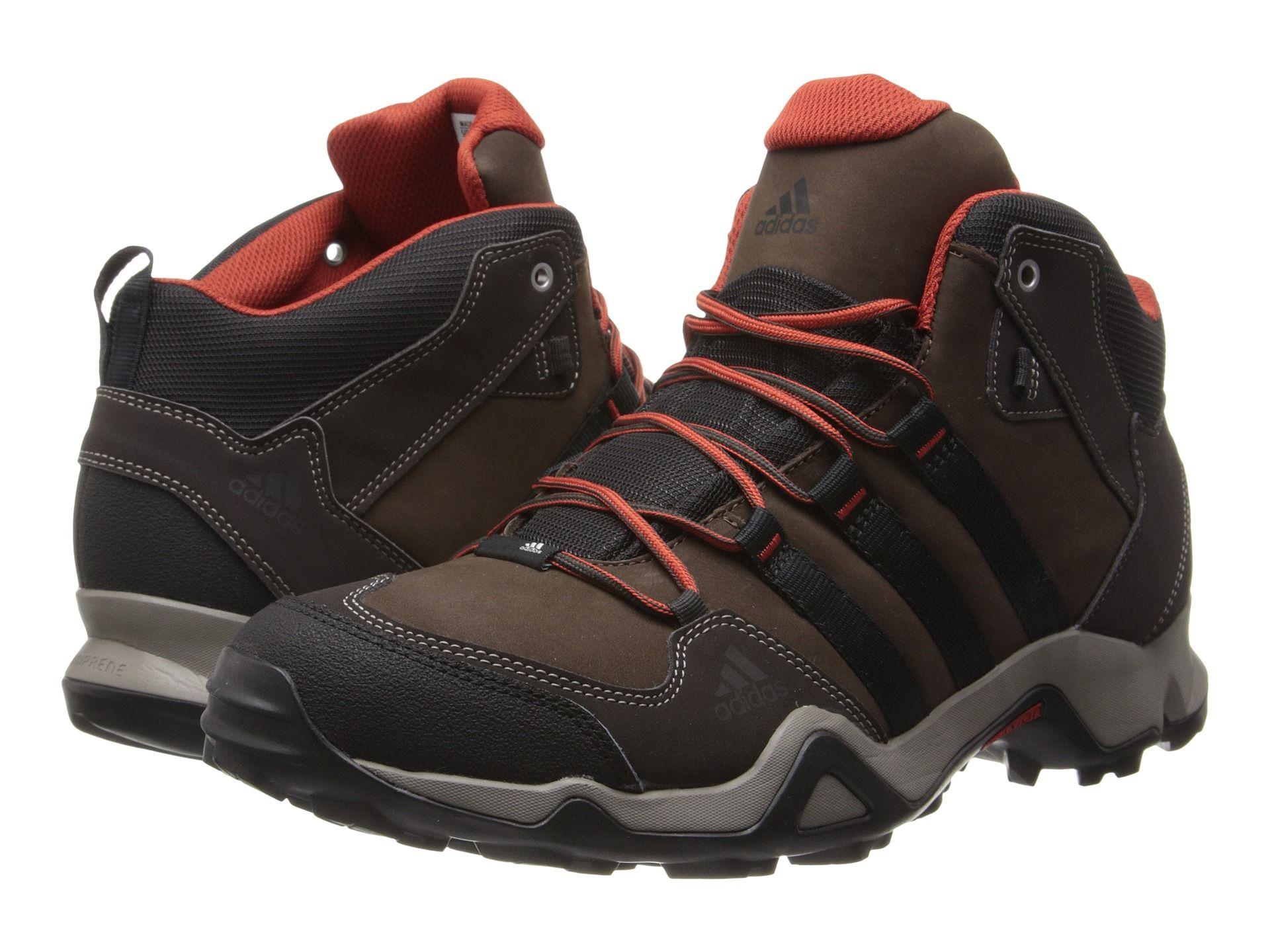 adidas Outdoor Brushwood Mid Leather - Espresso/Black/Titan Grey