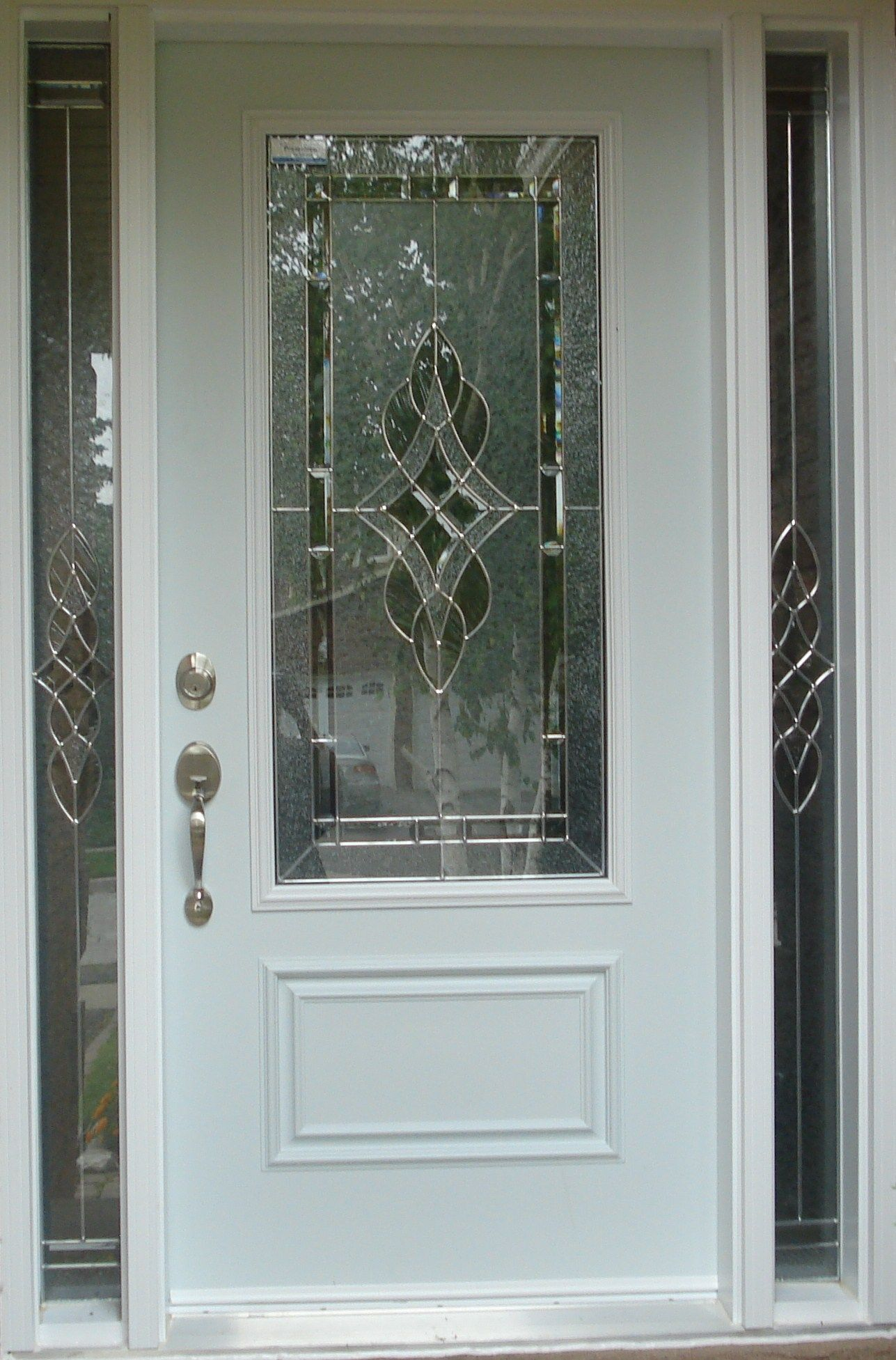 Stained Glass Inserts For Exterior Doors Glass Doors