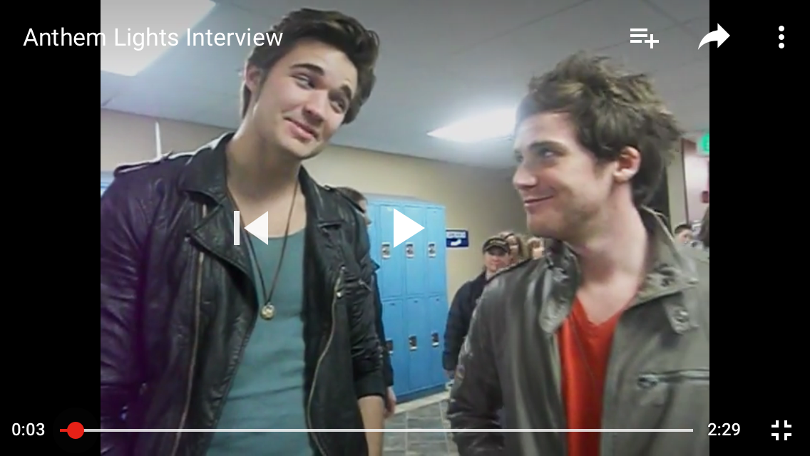 Kyle & Caleb // I was on YouTube & came across this recommended video: interview with Kyle & Caleb! Wow, time flies since AL was first started! I love these guys — whether together in a band or separately living their lives for God. Amazing.