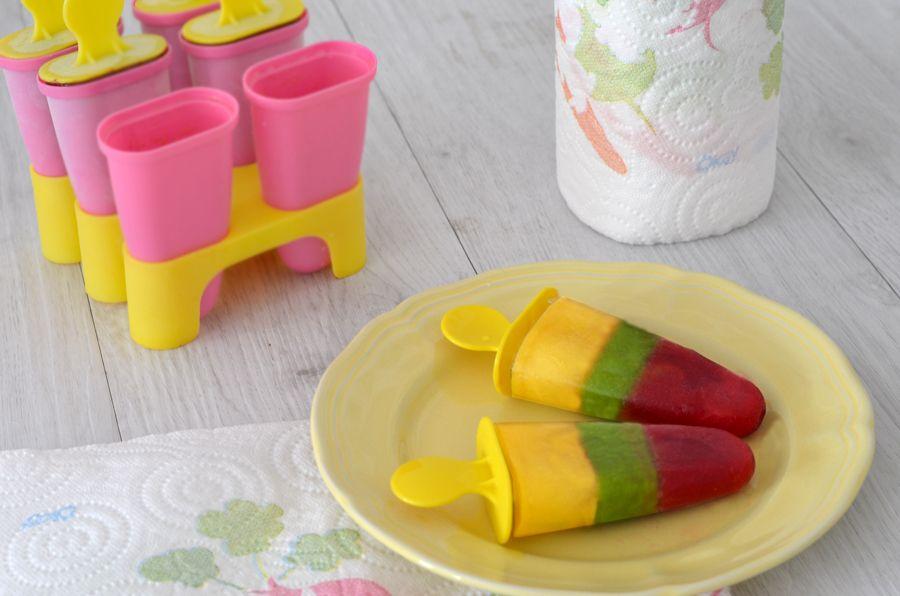 Recette de glaces à leau aux fruits maison