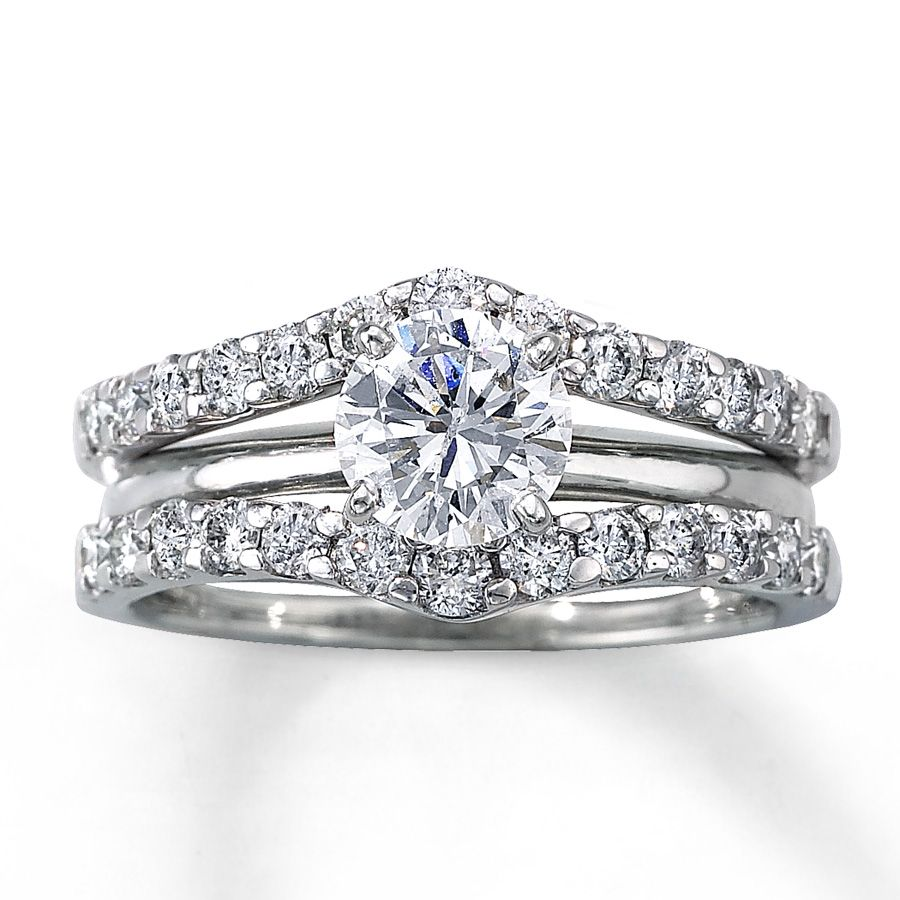 A solitaire enhancer wedding band it would showcase my diamond