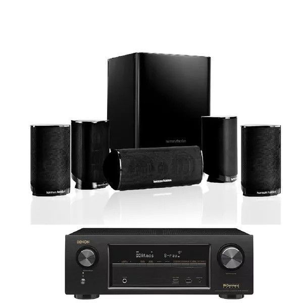 harman kardon home theatre. home theater systems: harman kardon hkts 9bq 5.1-channel theatre speaker system with