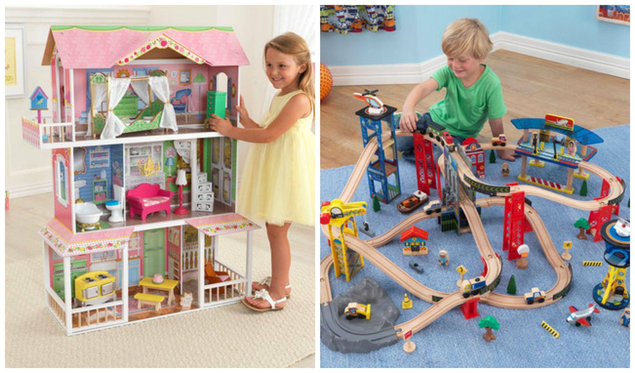 KidKraft Train & Dollhouse Sale – Up to 45% Off!