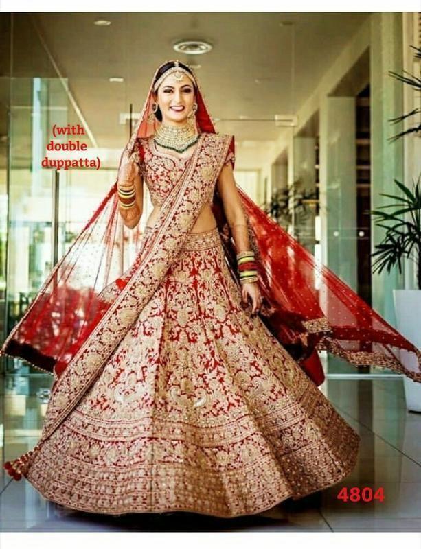 hot product online shop best choice Indian Lehenga Choli Designs Bridal Wear Bollywood New ...