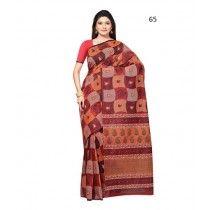 Multi Color Cotton Silk Saree