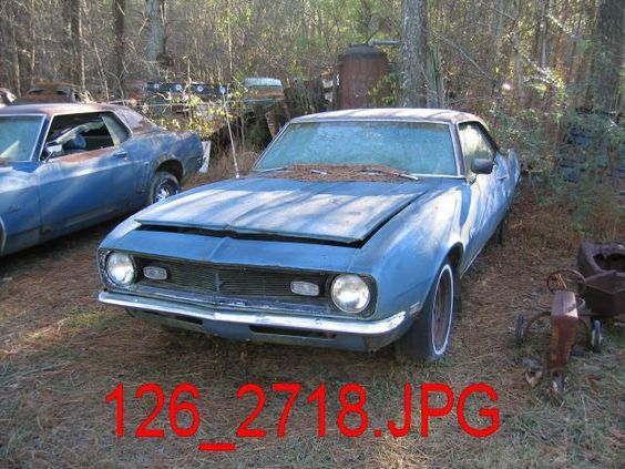 classic cars rotting  | Classic Car – 1968 Camaro for sale