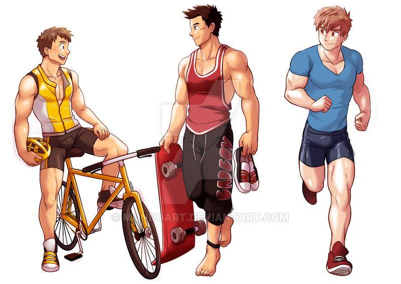 Commission set Sports by MondoArt Sports, Deviantart