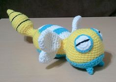 pokemon - dunsparce (love crochet)