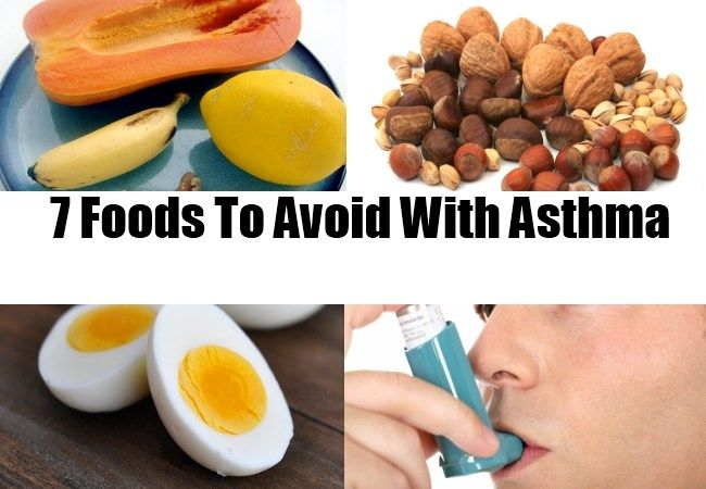 what foods cause asthma