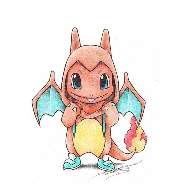 Pokemon Dress Up As Their Evolutions Pokemon Desenho Desenhos